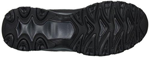 Skechers Sport Men's Afterburn Strike Memory Foam Lace-Up Sneaker Navy/Gray