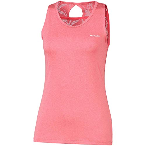 Columbia Peak to Point Novelty Tank Damen Tanktop, Coral Bloom, L Columbia Peak