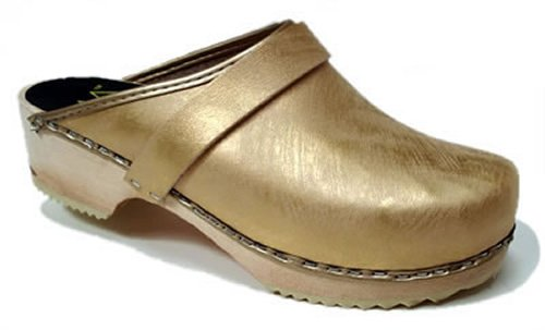 World of Clogs ,  Sabot/sandali donna Oro oro 40