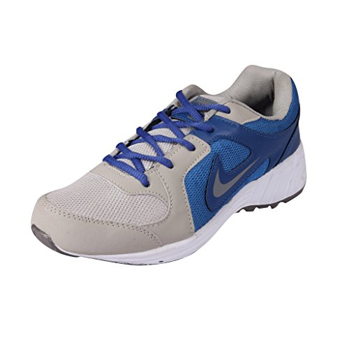 Maddy Men's Grey Synthetic leather Sport Shoes Size- 8