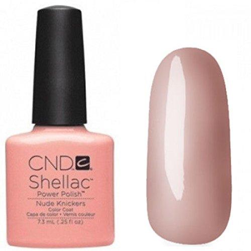 CND Shellac 7,3ml - NUDE KNICKERS - Produits Officiels CND - Livraison gratuite