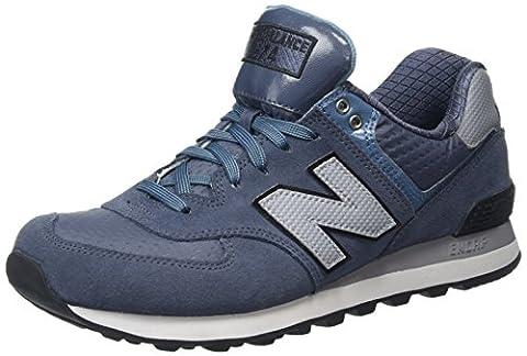 New Balance Men ML574CUB-574 Training Running Shoes, Multicolor (Thunder/Multi 161),