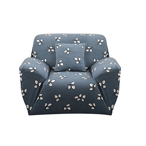 MagiDeal 1-Sitz / 3-Sitzer Modern Stretch Sofabezüge Sofahusse Couch Sofa Husse Wohnzimmer Haus Dekoration , Farben und Größe Auswählbar - Kleine Maple Leaf, 90-140cm -