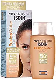 Isdin Fotoprotector Fusion Water COLOR SPF 50 - Protector solar facial de fase acuosa con color para uso diari