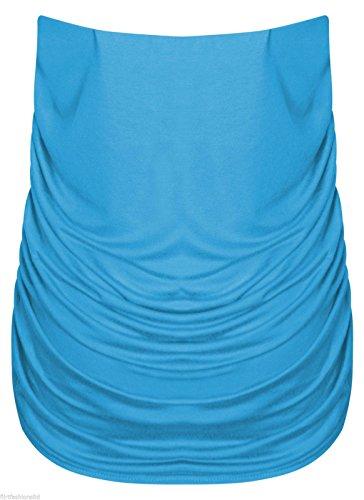 Generic - Débardeur - Col Rond - Femme Turquoise