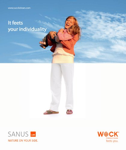WOCK Sanus, Sabots Mixte Adulte Orange (Orange)