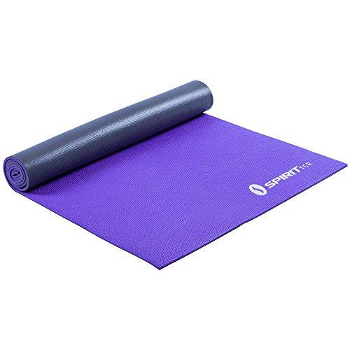 Spirit Yoga-Matte Lavender 175x61 Sportmatte Fitness Pilates Gymnastik Unterlage