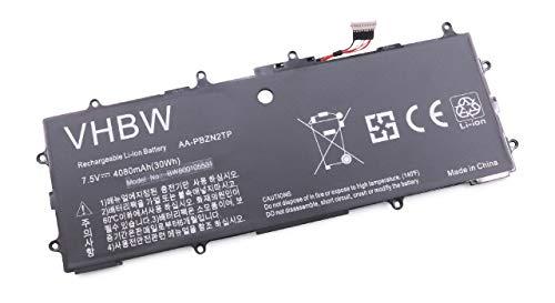 vhbw Batterie 4080mAh (7.5V) pour Samsung Chromebook Series 3, 303C12 A01, 303C12 H01XE303C12, XE303C12-A01US remplace AA-PBZN2TP, BA43-00355A
