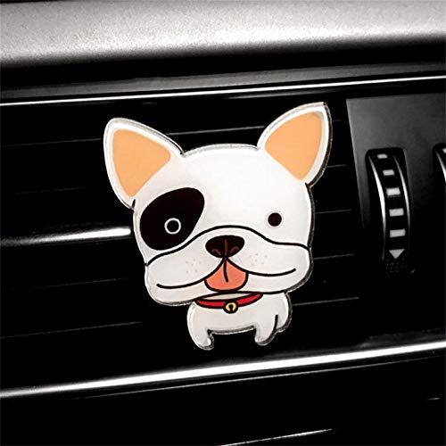Deodorante per auto Auto Simpatici cani Forma Auto Aria condizionata Sfiato Profumo Sensazione di comfort Car Decorated Kit Fem