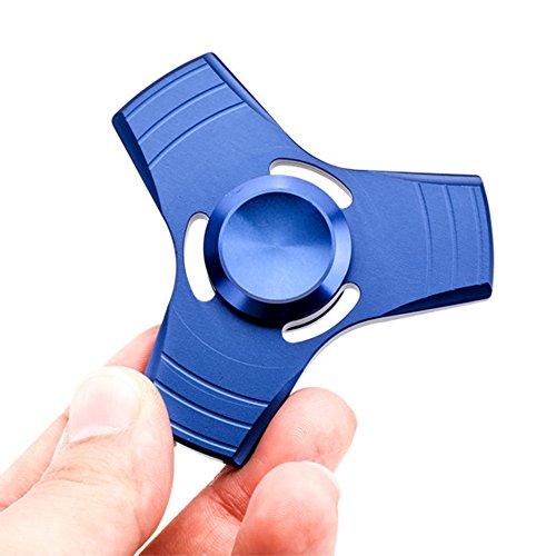VANKER Tri Fidget Spinner de Dedo de Aluminio