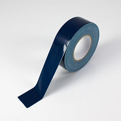 Gaffa Tape blau, 50m x 50mm - Gewebeklebeband / Gaffer Klebeband - showking