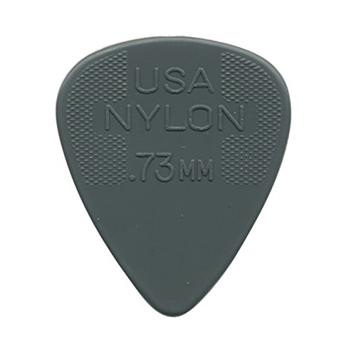 DUNLOP 44 PúAS NYLON STANDARD BIG PACK GRIS 0 73 MM