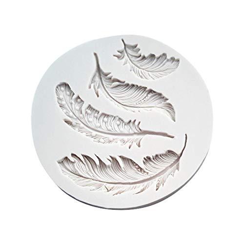 Laile Kuchen SchimmelSilikon Feder fondantform Kuchen Tier vögel Plume Schokolade backen DIY Form Mini Gugelhupf Backform silikon Gugelhupfform