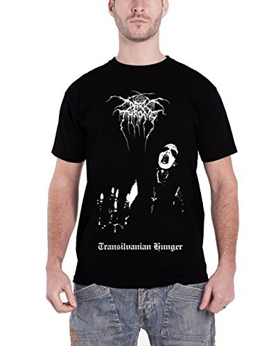 Darkthrone - Top - Maniche corte  - Uomo nero X-Large