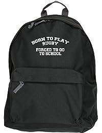 Personalised Rugby Ireland Boys Girls Black Bootbag Boot Shoe Sports Bag SH139