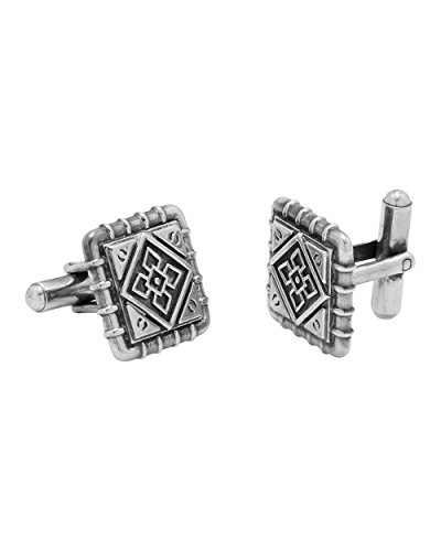Voylla Fashion Silver Metal Cufflink Gift For Men  available at amazon for Rs.266