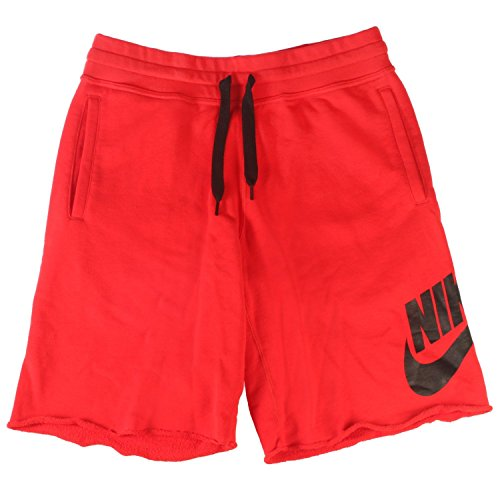 i Terry Sweat Shorts Red Size Small ()