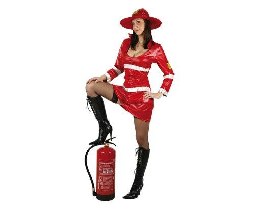 Sexy Feuerwehr-Kostüm für (Feuerwehr Kostüme Frau Sexy)