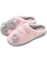 00cc73dc3ef Panda Zapatillas de Estar por Casa Mujer Invierno Verano Zapatos