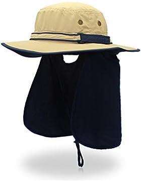 vertast ala ancha Booney tapa rápida secado UV Protección al aire libre sol sombrero con solapa cuello cubierta...
