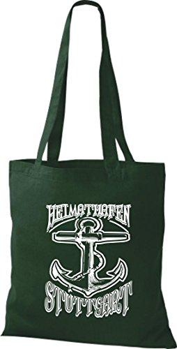 Crocodile leur port d'attache stuttgart sac kiez, sac shopper sac à bandoulière plusieurs couleurs Vert - Vert