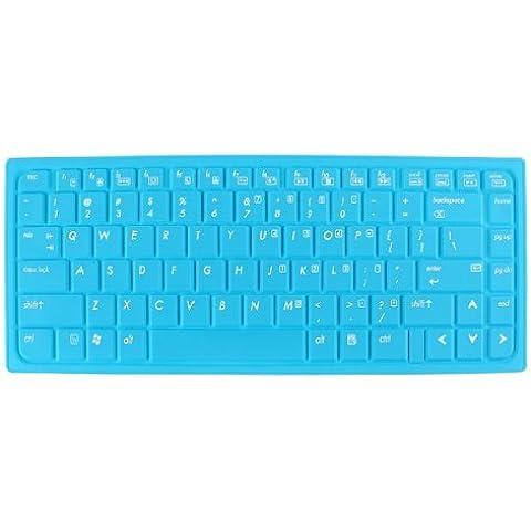 Water & Wood Sky Blue Laptop Keyboard Protector Film Skin