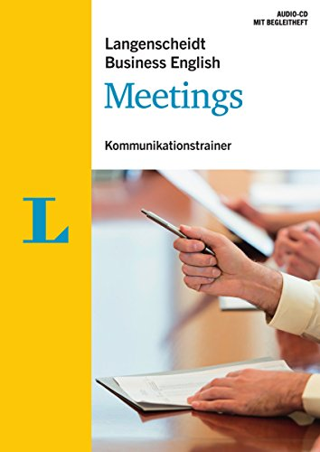 Langenscheidt Business English Meetings - Audio-CD mit Begleitheft: Kommunikationstrainer...