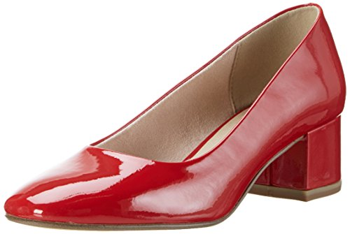 Jana Damen 22302 Pumps Rot (RED PATENT 505)