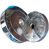 Best Quality 5 KG Chrome Plates Pack of Pair