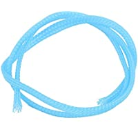 Portal Cool Kabel-Ummantelung, 4 mm Durchmesser, dicht geflochten, PET erweiterbar, 50 cm, Blau