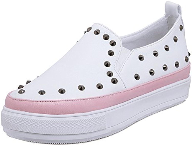 73cc0d243ec TAOFFEN Women s Slip On Flat Flat Flat Pumps Shoes B07BFVY4NQ Parent 500c52