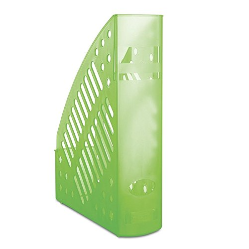 Danubio 7462188pl de 06revistero, durchbrochen, poliestireno, A4, transparente verde