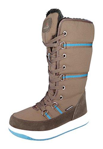 Lackner signore stivali invernali stivali invernali 7311 MICHELLE Ls TX Brown Braun