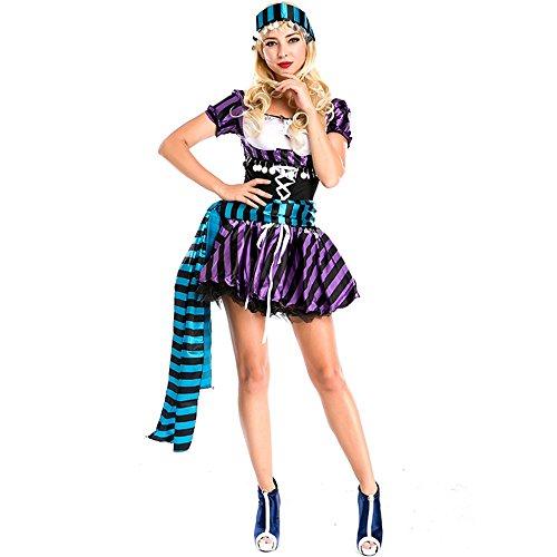 Pirat Damenbekleidung Piraten Kostüm Europa und Amerika Spiel -