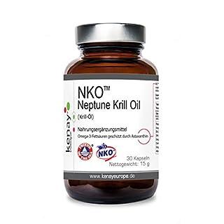 KENAY EUROPE   NKO   Neptune Krill Oil   (Krill-Öl) 500mg 30 Kapseln