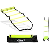 Agility Resistance Training Multi Sports Exercise & Fitness Ladder In Bag 4mtr by CreativeMinds UK