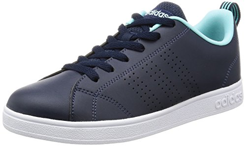 innovative design a09f5 e0854 Adidas VS Advantage Clean W - Zapatillas Deportivas para Mujer, Azul - ( MaruniMaruniAGUCLA) 36