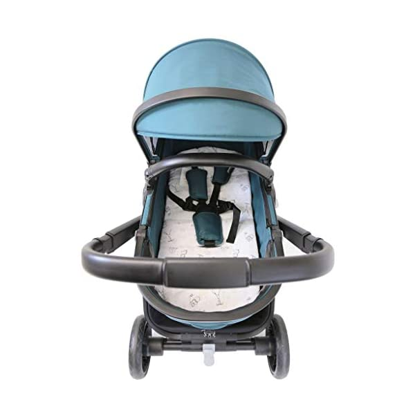 iSafe Marvel 2in1 Complete Pram System Pushchair and Carseat - Teal iSafe  3
