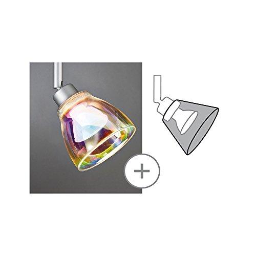 Paulmann 600.11 DecoSystems Schirm Wolbi max.50W Glas Dichroitic 60011 Glasschirm Zubehör Ergänzung -