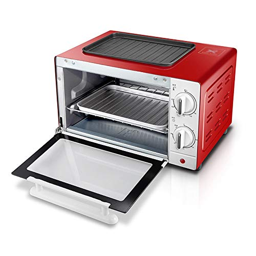 BEI-YI Mini Ofen Ofen Haushalt 10L Mini Ofen Küche 1000 Watt High Power Quarz Heizrohr Küche Ofen