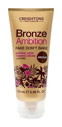 Bronze Ambition Falsch Tue nicht Backen Natürliches Aussehen Bräunungscreme - Packung von 2