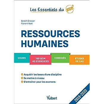 Ressources Humaines - Cours - QCM - Exercices - Corrigés