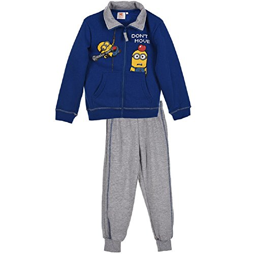 Despicable Me Jungen Minions Fleece-Futter Anzug Trackpant Alter 4 Jahre