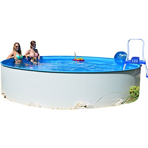 Rundpool Fun-Zon 4,50 x 1,20m Gartenpool, Stahlwandbecken, Schwimmbecken