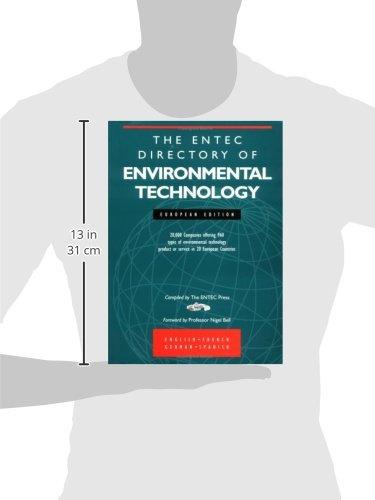 Entec Directory Of Environmental Technology European Edition