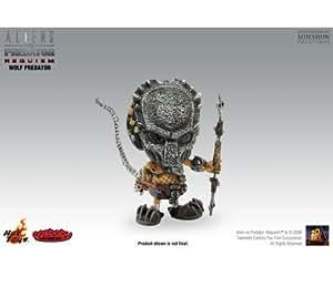 Hot-Toys - Aliens Vs Predator Requiem - Cosbaby Wolf Predator - 8 cm
