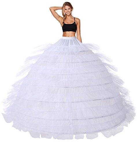 Reifrock Petticoat Brautkleid Unterrock Petticoat Brautkleid Reifrock 7 Hoop Petticoat Brautkleid...