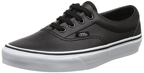 Vans Unisex Adults' Era Trainers, Black ((Classic Tumble) Black/True White), 9 UK...