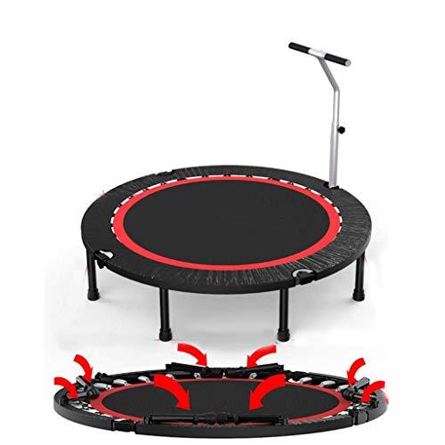 AOLI Trampolin Outdoor-Trampolin/Erwachsenensport Gewichtsverlust/Gym Home Indoor Sprungbett/Mit Armlehnen 50 Zoll,375kg