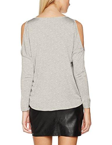 ONLY Damen Pullover Grau (Light Grey Melange)